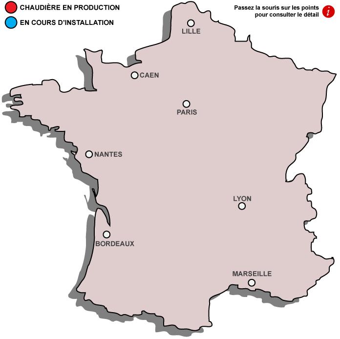 Carte des références WEISS